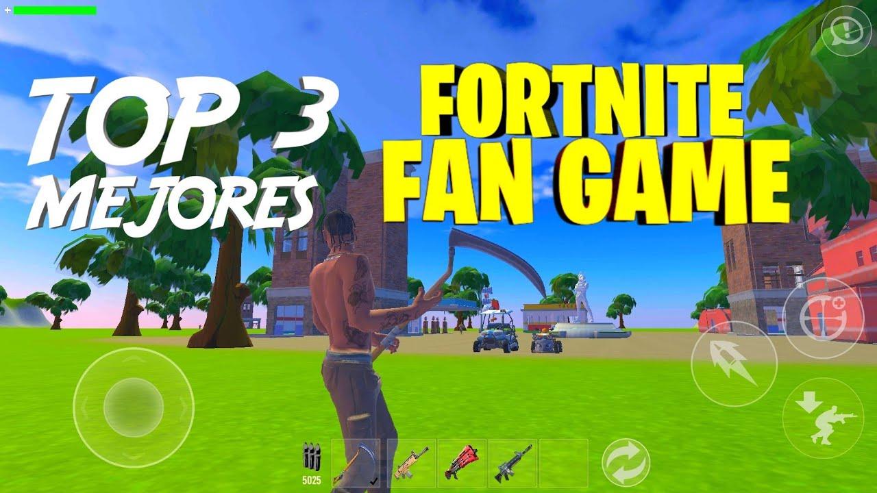 Fortnite Fan Game Los Mejores! - YouTube