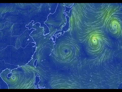 Extremely Rare Event: Eight Tropical Cyclones formed at Once for the First Time Since 1974
