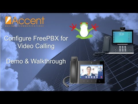 Configure FreePBX For Video Calling With Grandstream And Yealink VoIP Video Phones