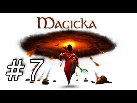 Magicka Playthrough with Kootra and Nova Part 7 - Slowest Character in the World |