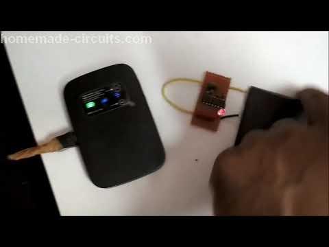 Anti Spy RF Detector Circuit - Wireless