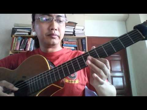 Jazz Guitar Lesson: E Major 7 Lydian Lick using arpeggios and intervallic ideas (With Free PDF Tab)