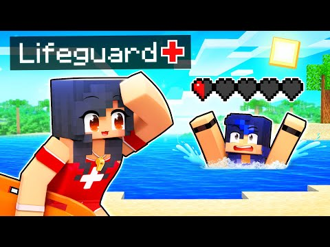 Helping My Friends as a LIFEGUARD in Minecraft! - Aphmau
