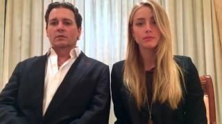 Johnny Depp & Amber Heard sing The Muppets