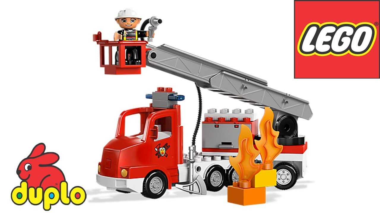 Lego Duplo Fire Truck 10592 Instructions For Kids Bricks
