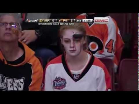 Philadelphia Flyers' fans get ready for Halloween