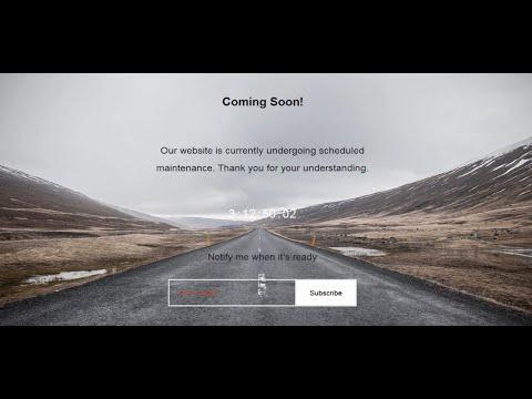 WP Maintenance Mode – Awesome WordPress Plugin