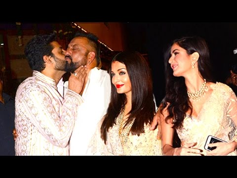 Amitabh Bachchan's Diwali Party 2016 Full Video HD - Aishwarya,Abhishekh,Katrina,Sanjay Dutt