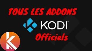 Installer toutes les extensions du dépôt officiel KODI en 2 méthodes | KODI Addon