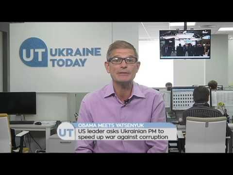 Obama Meets Yatsenyuk: US leader asks Ukrainian PM to speed up war against corruption