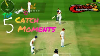 Top 5 Fielding Moments in Wcc2 | Test Cricket