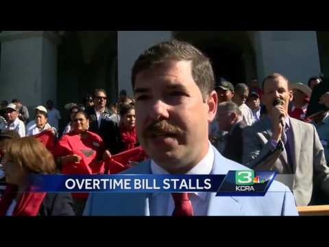 Controversial bill on OT for California farm workers stalls in Capitol