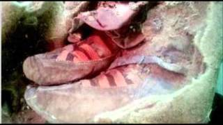 Proof of time travel? The 1,500-year old mummy wearing ADIDAS boots