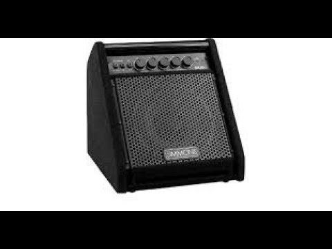 SIMMONS DA50 Electronic Drum Amp OVERVIEW...