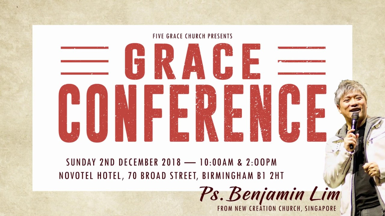 Grace Conference 2018
