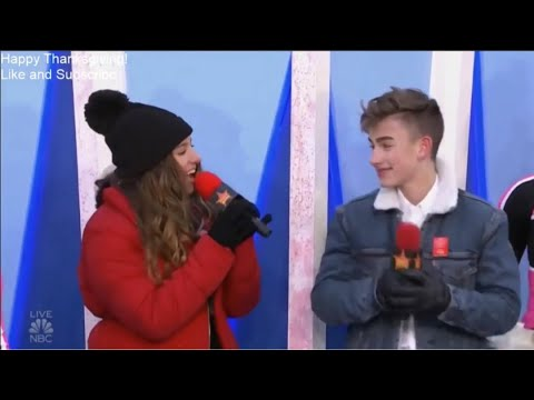Johnny Orlando & Mackenzie Ziegler - What If (Macy's Thanksgiving Parade 2018)