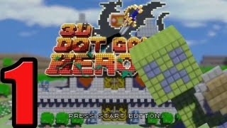 NUEVA SERIE! 3D dot game heroes! Cap.1 El creeper salvavidas! en español por Helldog