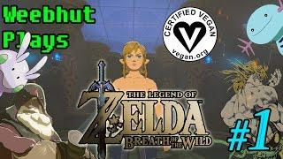 The Legend of Zelda: Breath of the Wild | Part 1 | VEGAN PLAYTHROUGH!!