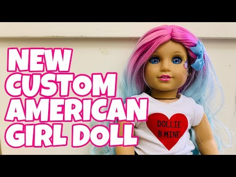 New Custom American Girl Doll