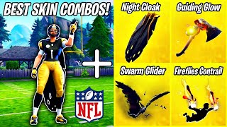 THE 5 *BEST* NFL SKIN COMBINATIONS IN FORTNITE! 🏈 (Superbowl Edition) | Fortnite Battle Royale