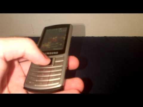 Обзор моего мобильного телефона Samsung S3310