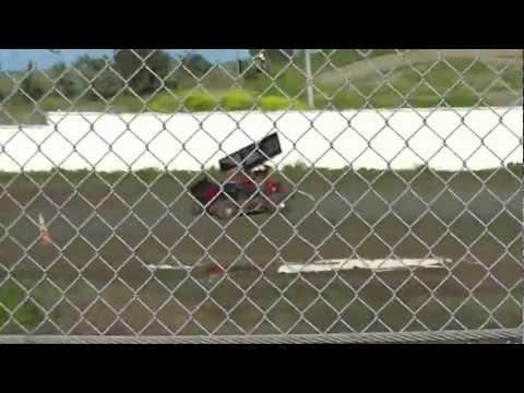 Cora Speedway 4/14/12 Micro Sprint heat 1a