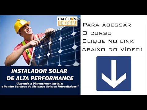 CURSO ENERGIA SOLAR 2018