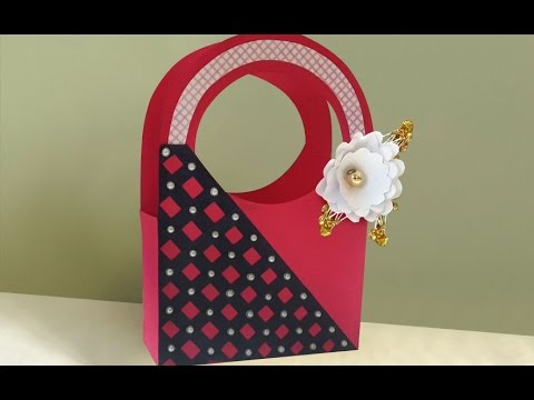 Easy Cute Diy Paper Gift Bag Making At Home Summer Crafts Ideas
