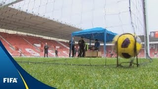 Testing the goal-line technology systems