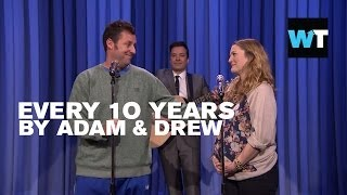 Adam Sandler & Drew Barrymore Sing on Jimmy Fallon | What's Trending Now