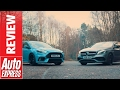 Ford Focus RS vs Mercedes-AMG A 45: huge hyper hatch showdown
