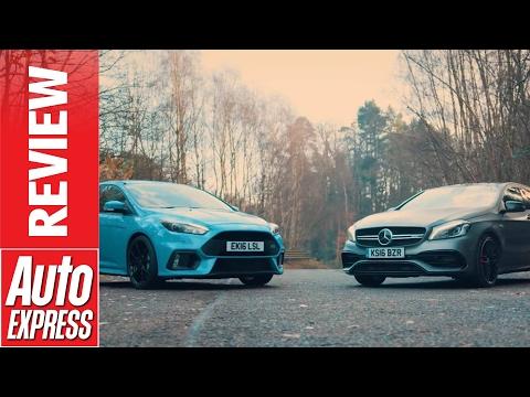 Ford Focus RS vs Mercedes-AMG A 45: huge hyper hatch showdown