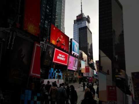 NYC Times Square Walk