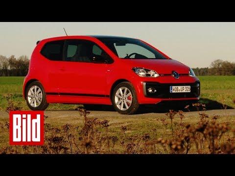 VW Up GTI - BILD testen den Kleinen der auf dicke Hose macht!