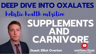 Carnivore and Supplements: Deep Dive into Oxalates