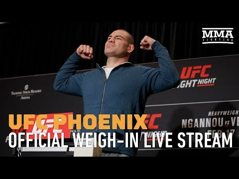 UFC Phoenix Official Weigh-ins - MMA Fighting