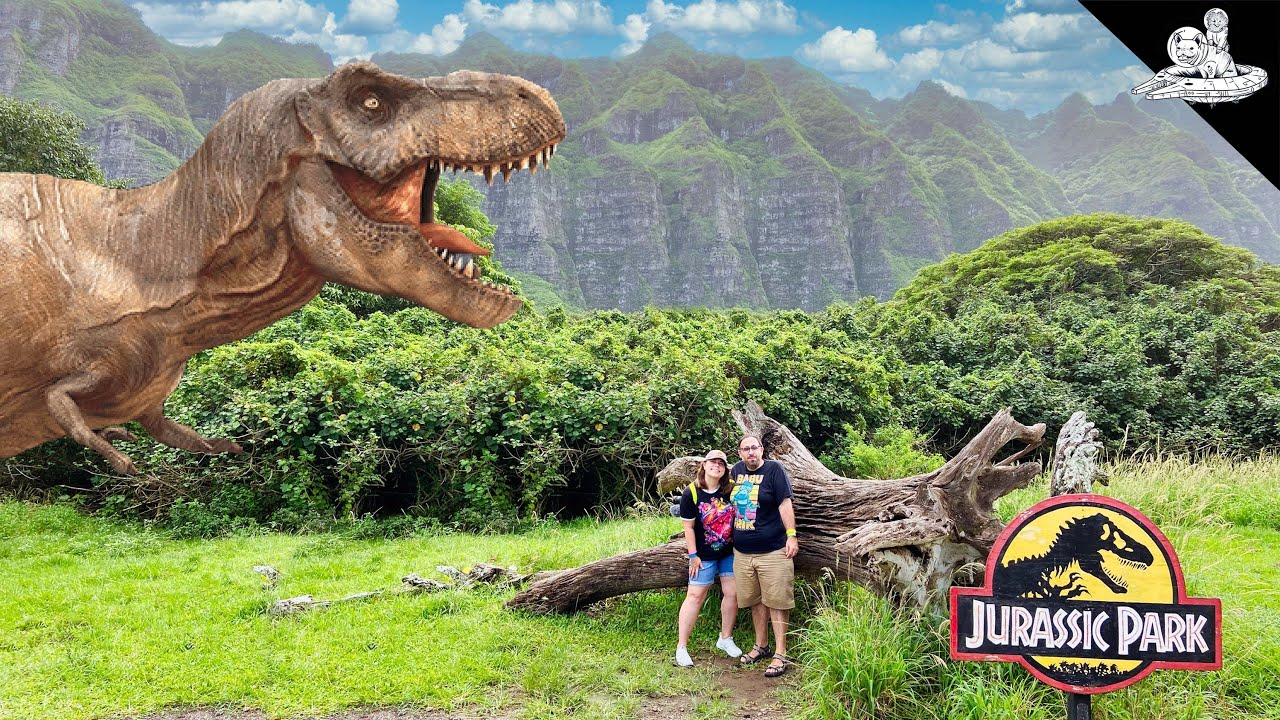 Jurassic Park Tour at Kualoa Ranch 🦖 - download from YouTube for free