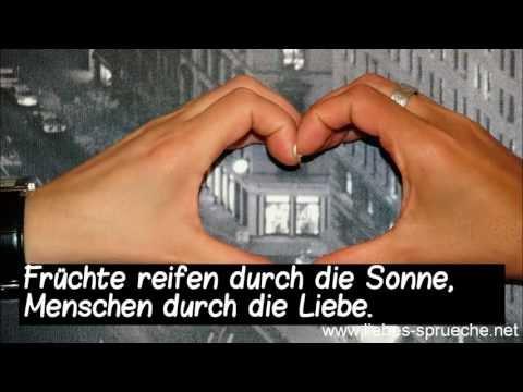 Liebessprüche - Sprüche zum Nachdenken und zum Verlieben!