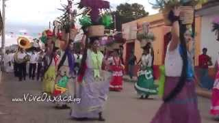 Fiesta Zapoteca 2014, Recorrido - Villa de San Pablo Huixtepec