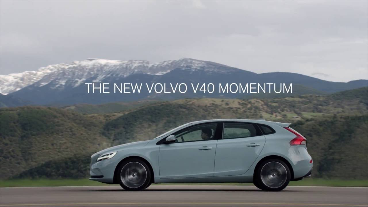 the new volvo v40 momentum youtube. Black Bedroom Furniture Sets. Home Design Ideas