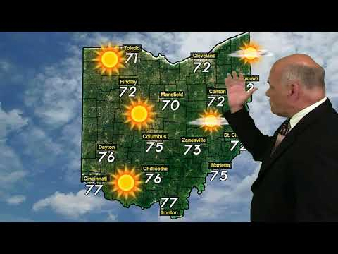 Ohio Weather Forecast For Aug 25th Weekend