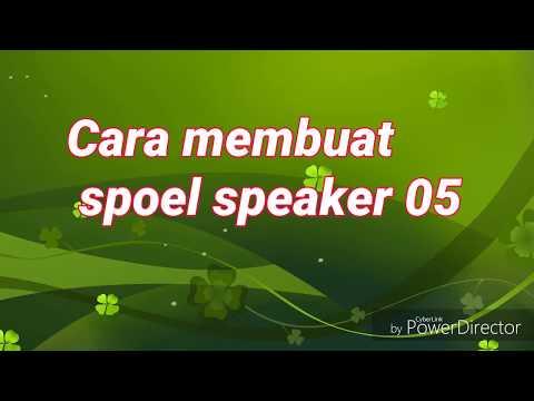 Cara membuat spoel.speaker 05
