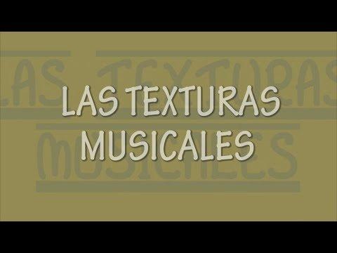 Anexo: Texturas Musicales