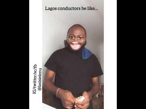 LAGOS CONDUCTORS ARE THE CRAZIEST IN THE WORLD. NO CAP
