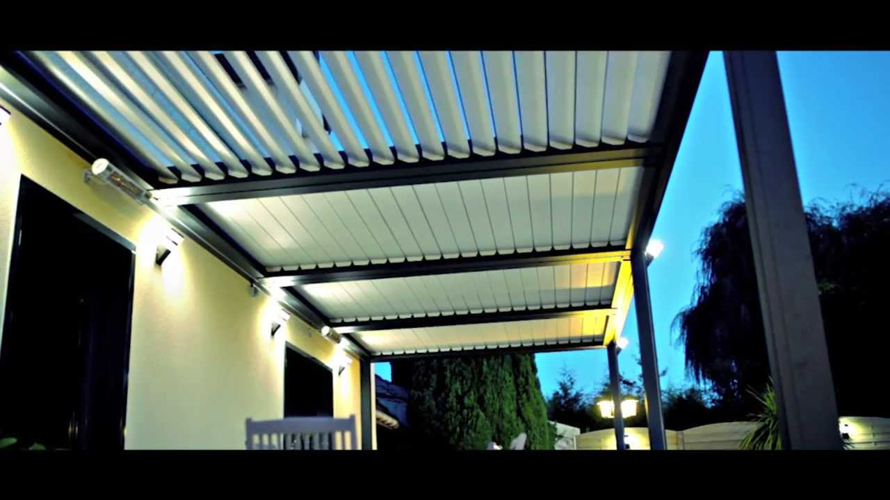Lelandais Fermetures Chantier Pergola Bioclimatique Youtube