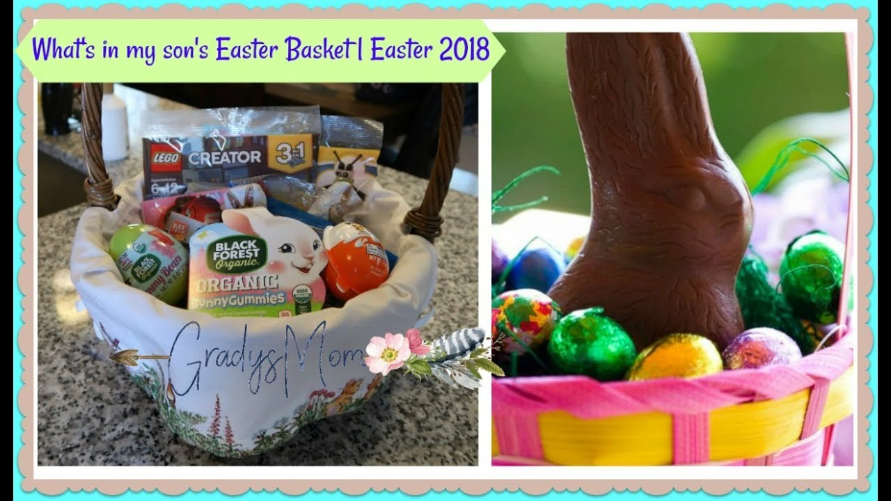 Easter 2018 what i put in my sons easter basket 6 years old easter 2018 what i put in my sons easter basket 6 years old negle Images