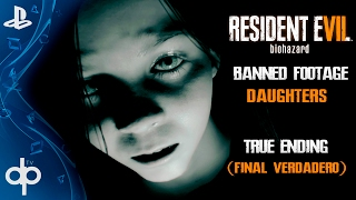 resident evil 7 banned footage vol 2 dlc daughters true ending final verdadero   sub espaol