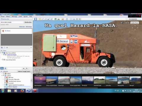 Lieux de tournage des image de Mars,Devon island,canada