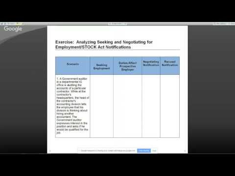 Part 2: Seeking and Negotiating for Non-Federal Employment Massive Open Online Course (MOOC)