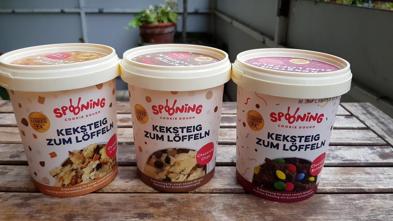 Spooning Cookie Dough Keksteig Zum Löffeln Aus Die Höhle Der